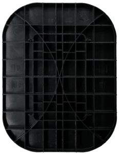 oval abs pier pad